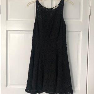A-line Black Lace Dress - BB Dakota